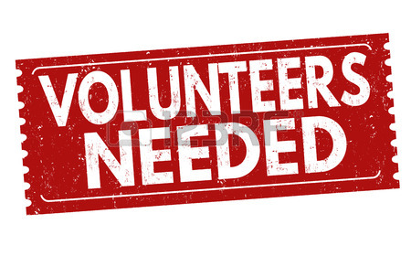 450x280 Volunteers Needed Sign Or Stamp On White Background, Vector