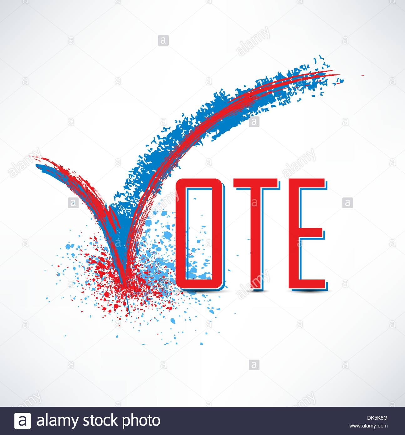 1294x1390 Vote Text With Check Mark And Check Box Stock Vector Art