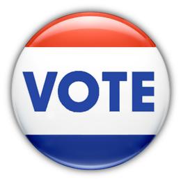 260x258 Vote Button Clip Art Download