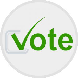 300x300 Vote Clip Art Download