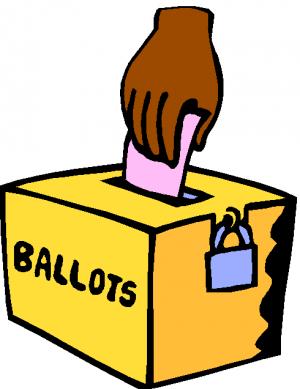 300x389 America Vote Clipart