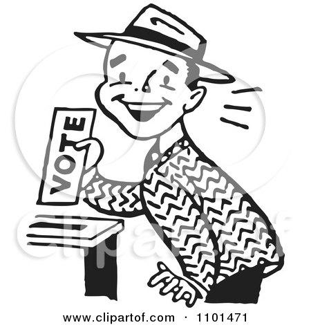 450x470 Royalty Free (Rf) Ballot Box Clipart, Illustrations, Vector