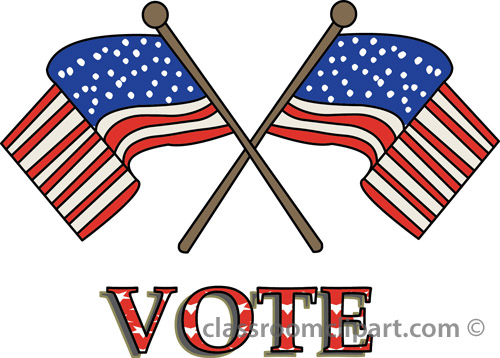 500x358 Voting Vote Flags 24a Classroom Clipart