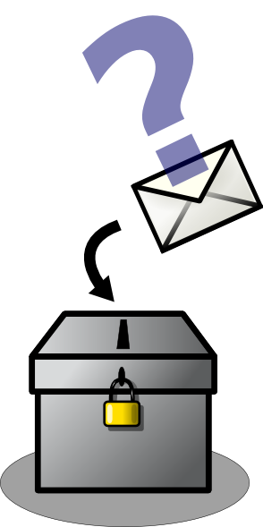 294x589 Voting Box Clip Art