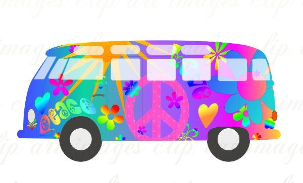 600x364 Magic Bus Clip Art, Royalty Free, No Credit Required, Like Vw
