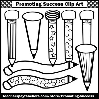 350x350 Pencils Clip Art, Writing Clip Art, Newsletter Clipart, Sps