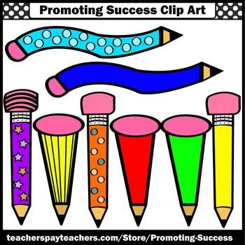 350x350 Wacky Pencils Clip Art, Writing Clip Art, Newsletter Clipart, Sps