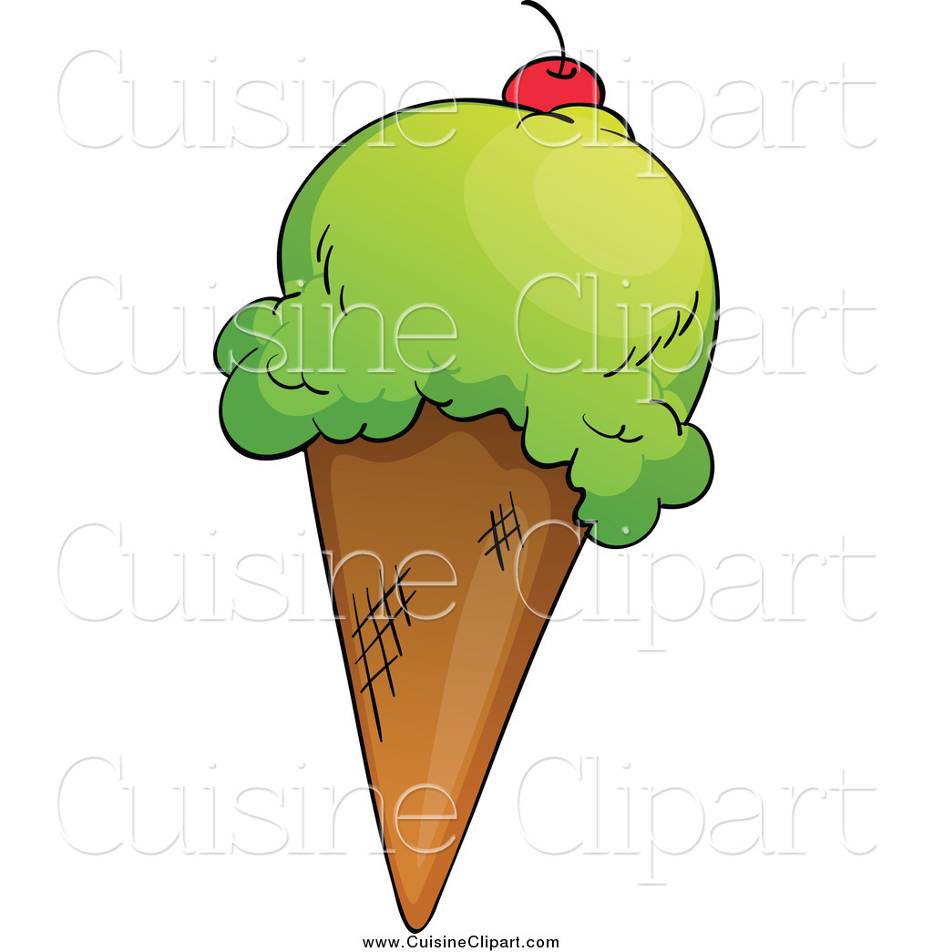 1024x1044 Cuisine Clipart Of Waffle Cone With Pistachio Ice Creamnd
