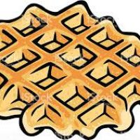 200x200 Waffle Clipart