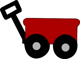 317x233 Wagon Clipart Little Red Wagon
