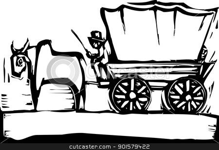 450x309 Wagon Clipart Ox Wagon