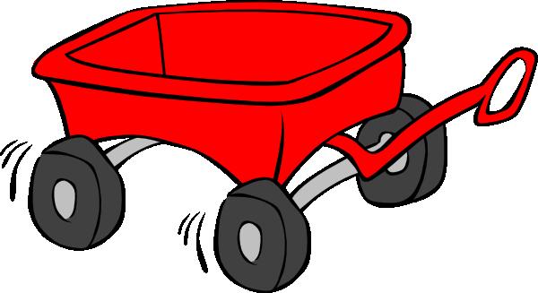 600x327 Kids Wagon Clip Art