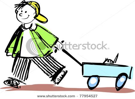 450x332 Pulling A Wagon