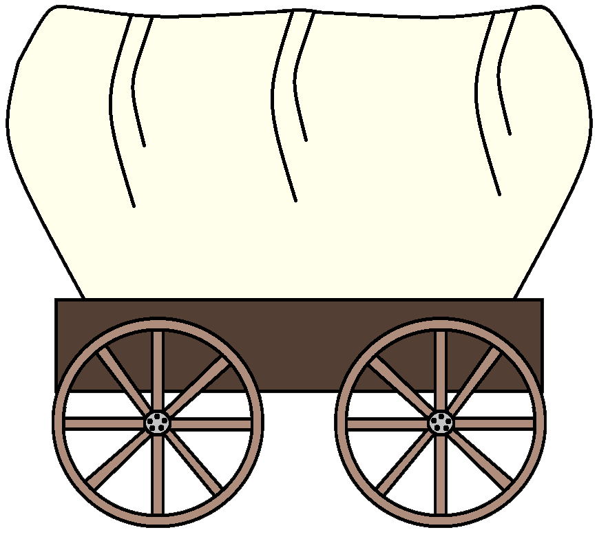883x783 Traditional Transportations Wagon Wheel Clipart