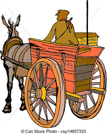 376x470 Wagon Clipart Carriage