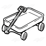 160x160 Wagon Clipart Handle