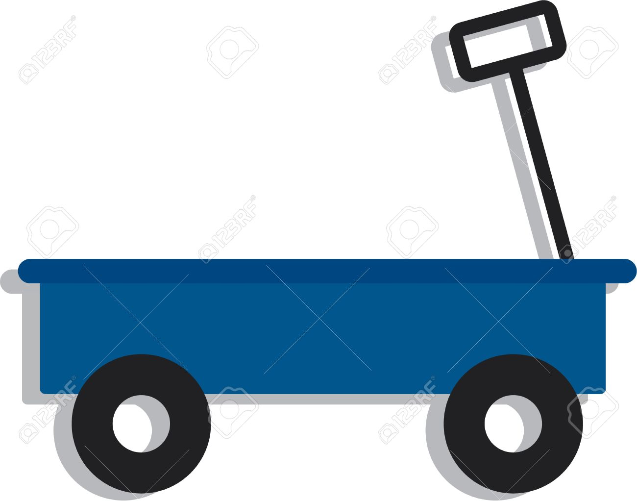 1300x1022 Wagon Clipart Vector