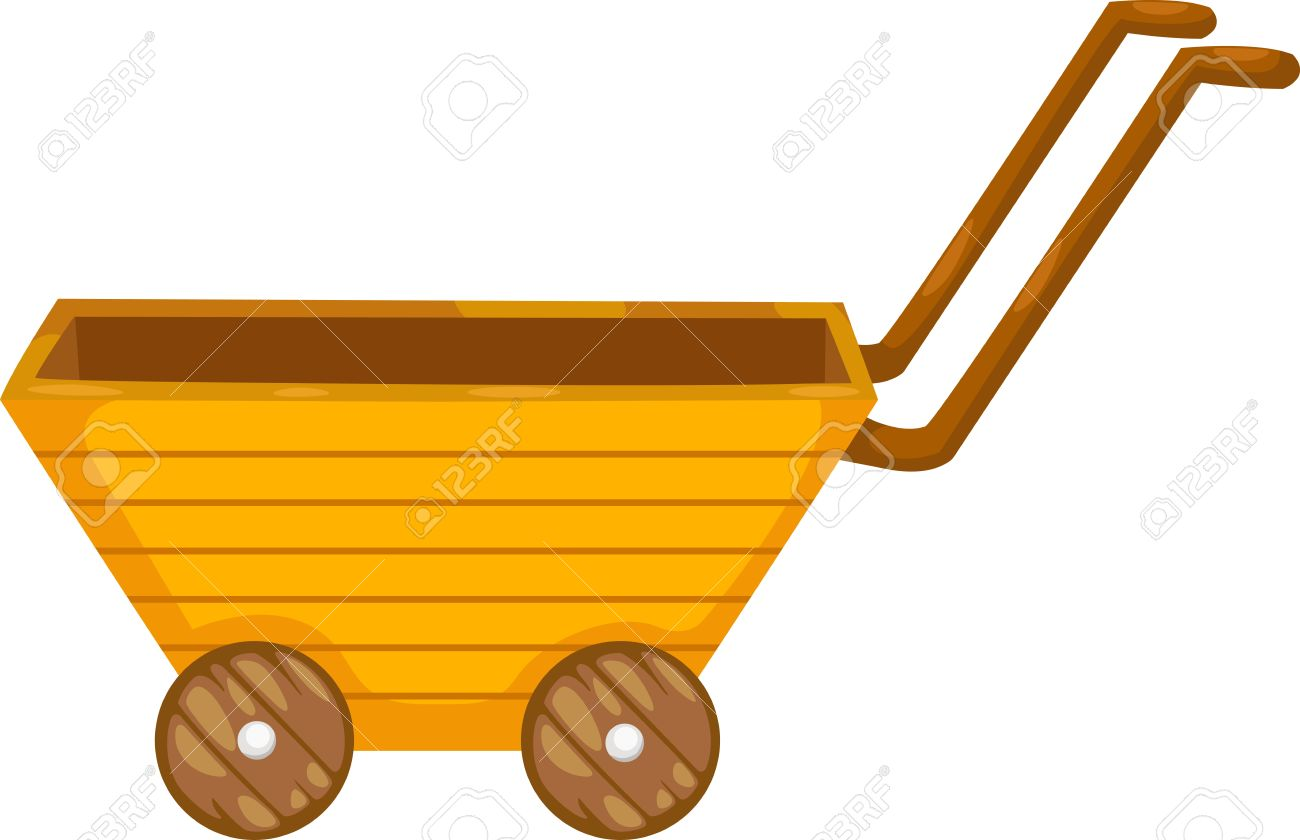 1300x840 Wagon Clipart Wooden Cart