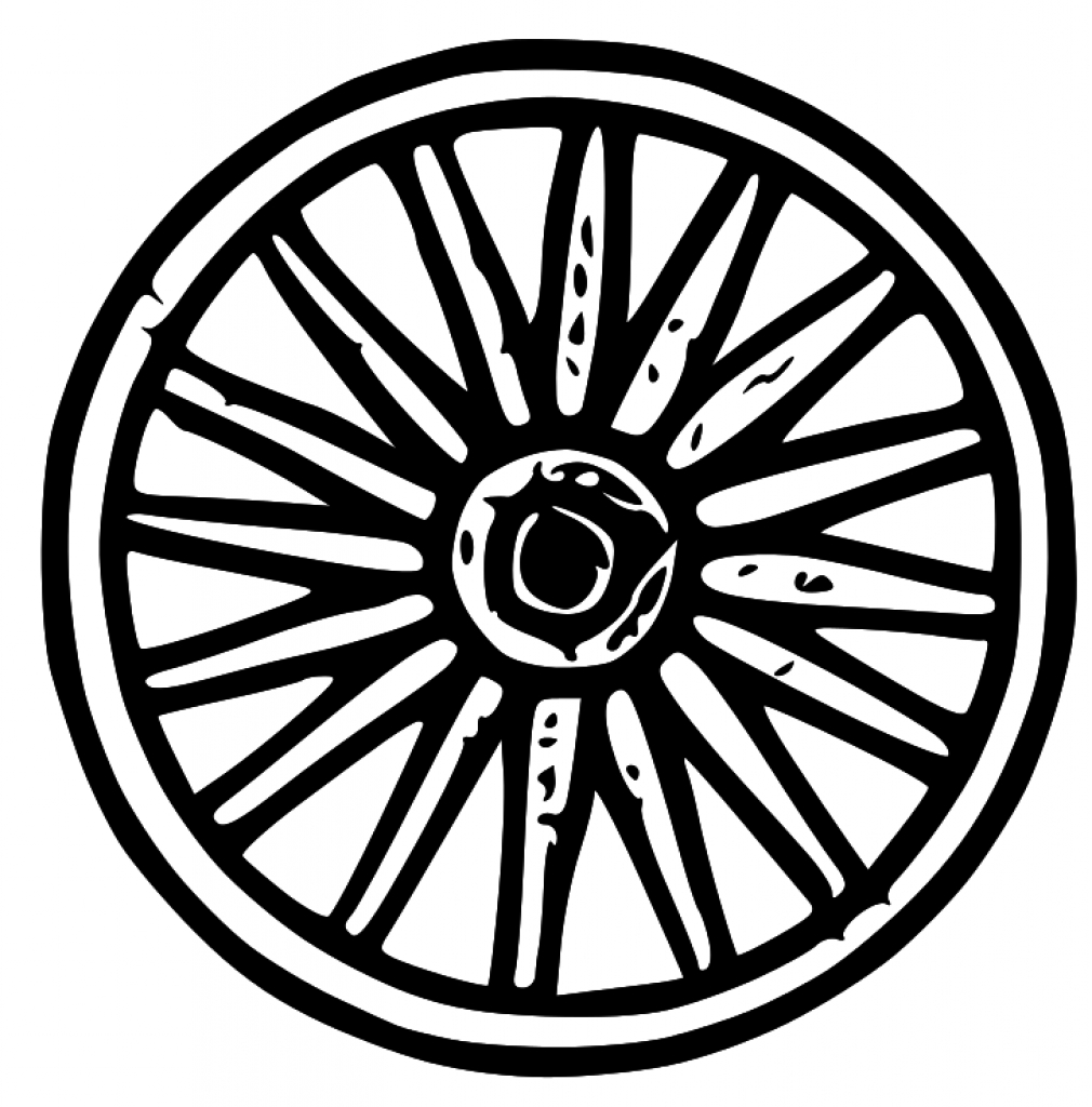 1010x1024 Wagon Tire Clipart