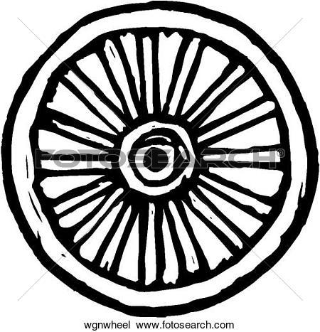 450x467 Wheel Clipart Wagon Wheel