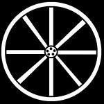 150x150 Wheel Clipart Black White Wagon Wheel Clipart Cliparts