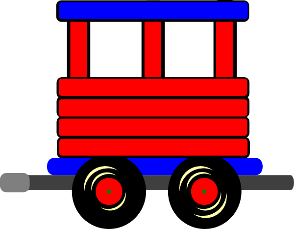 600x466 Loco Train Carriage Clip Art