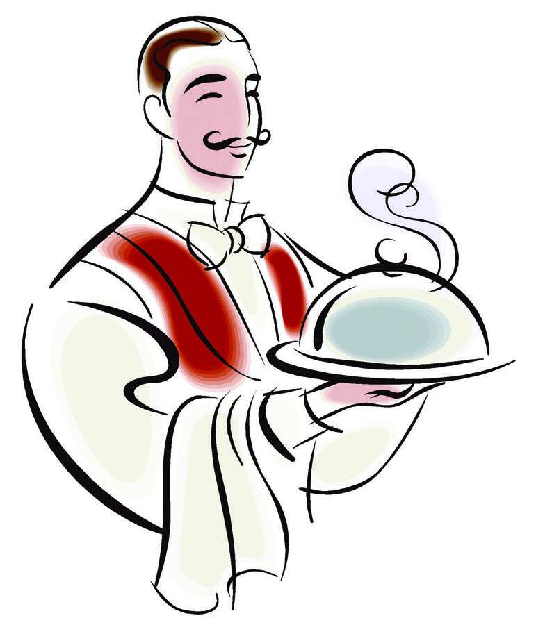 771x900 Restaurant Clipart Restaurant Waiter
