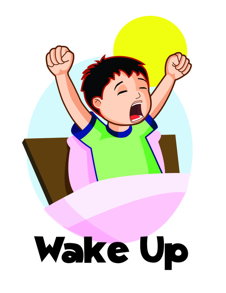 Wake Up Clipart