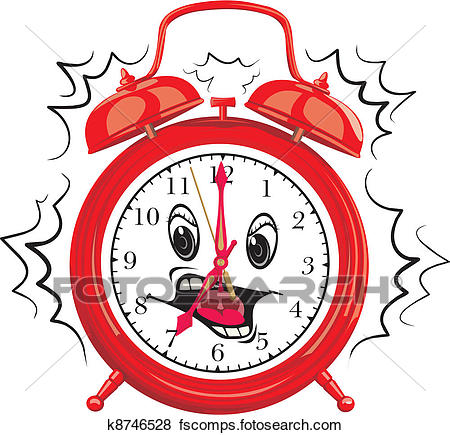 450x435 Clipart Of A Boy Waking Up Early K15979961