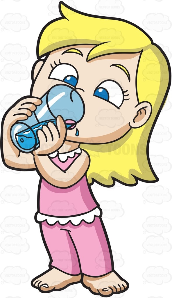 592x1024 Drinking Water Clip Art Cliparts