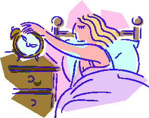 293x233 Waking Up Clipart