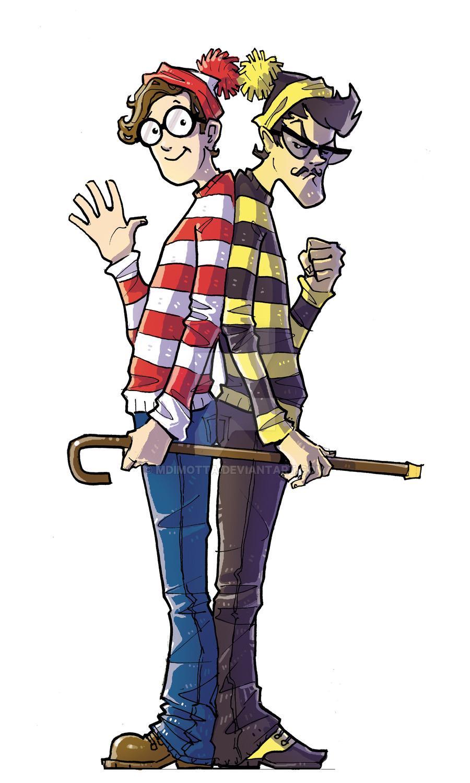 900x1500 Waldo Vs Odlaw By Mdimotta