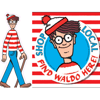 400x400 Where's Waldo