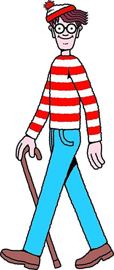 374x886 Sc758 Where's Waldo Cardboard Cutout Standup Home