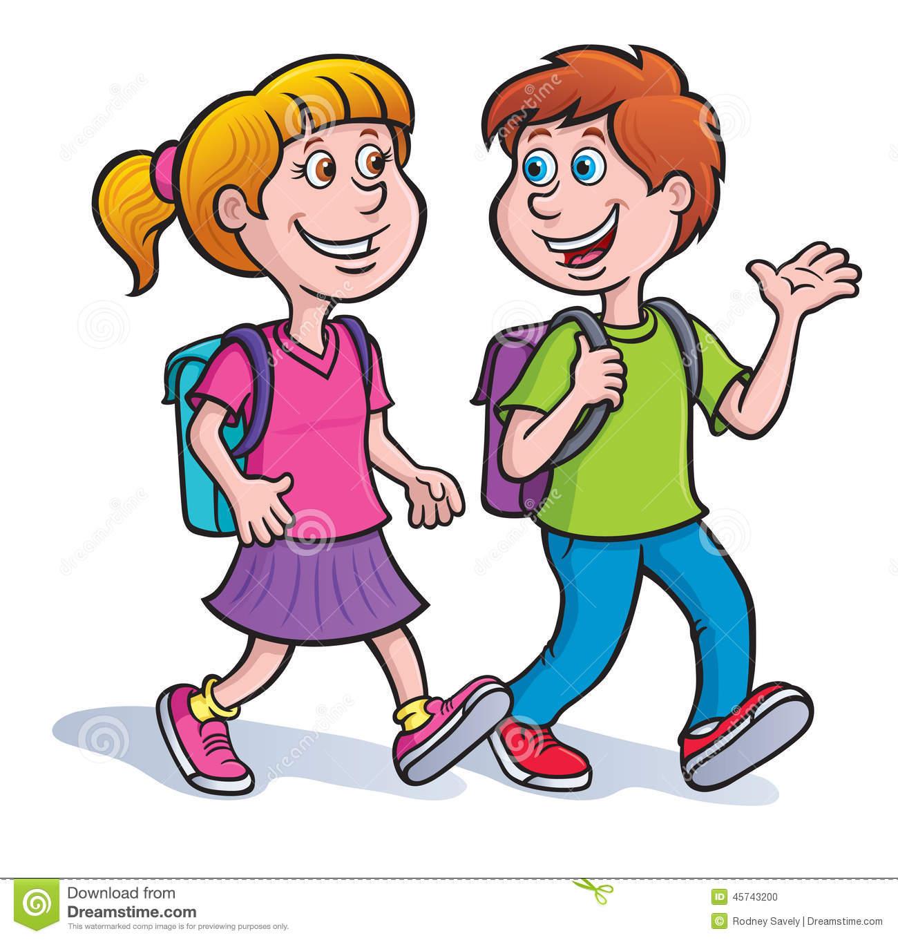 1300x1361 Clip Art Kids Walking Clipart