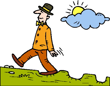 444x345 Walking You Try To Walk Clipart Kid
