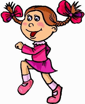 354x433 Kids Walking Clipart