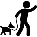 128x128 Dog Walk Vectors, Photos And Psd Files Free Download