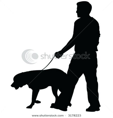 450x470 Dog Walker Clipart Awesome Dog Walking Stock With Dog Walker Woman