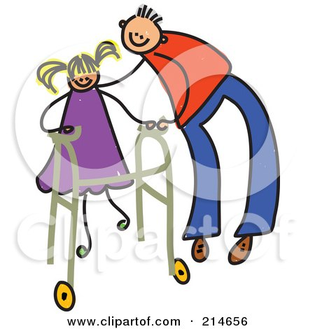 450x470 Royalty Free (Rf) Clipart Of Walkers, Illustrations, Vector