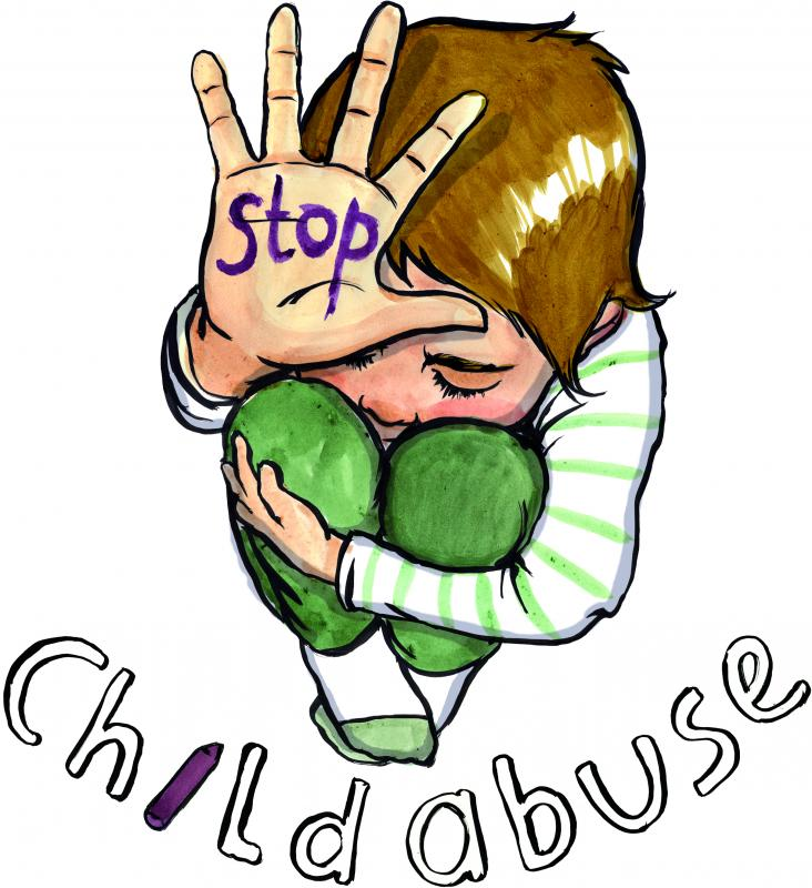 732x800 Child Clipart Violence Against