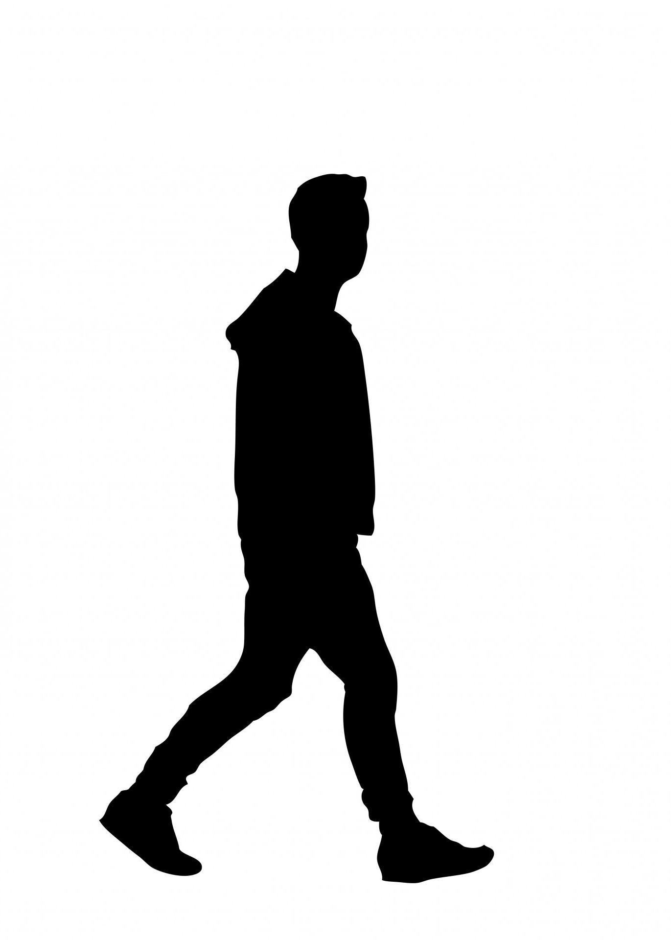 1371x1920 Best Hd Man Walking Silhouette Clip Art Cdr Free Vector Art