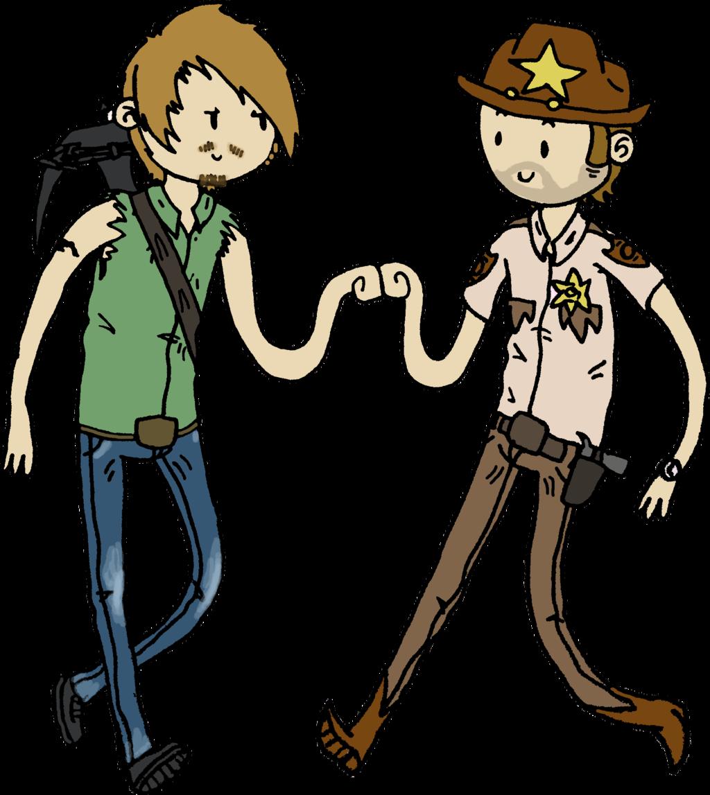 1024x1147 The Walking Dead Clipart Cartoon