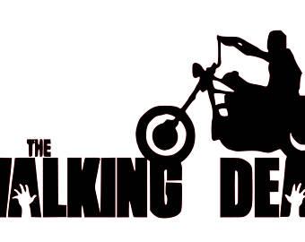 340x270 The Walking Dead Clipart Daryl Dixon