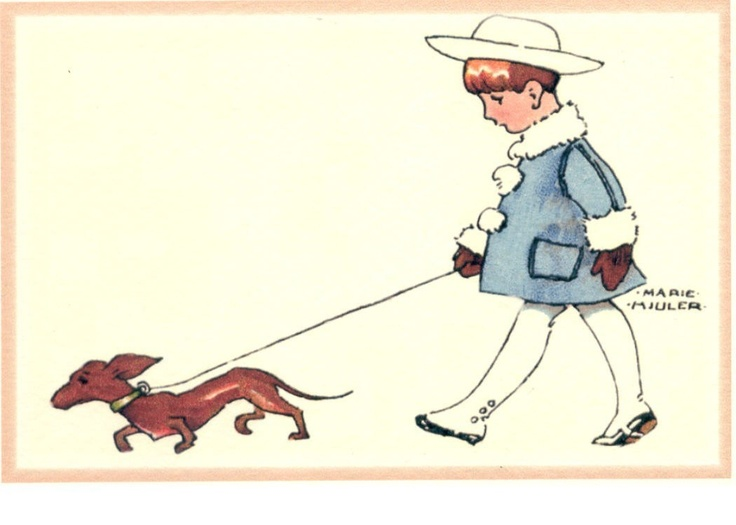 736x525 188 Best Walk The Dog Images Drawings, Friends