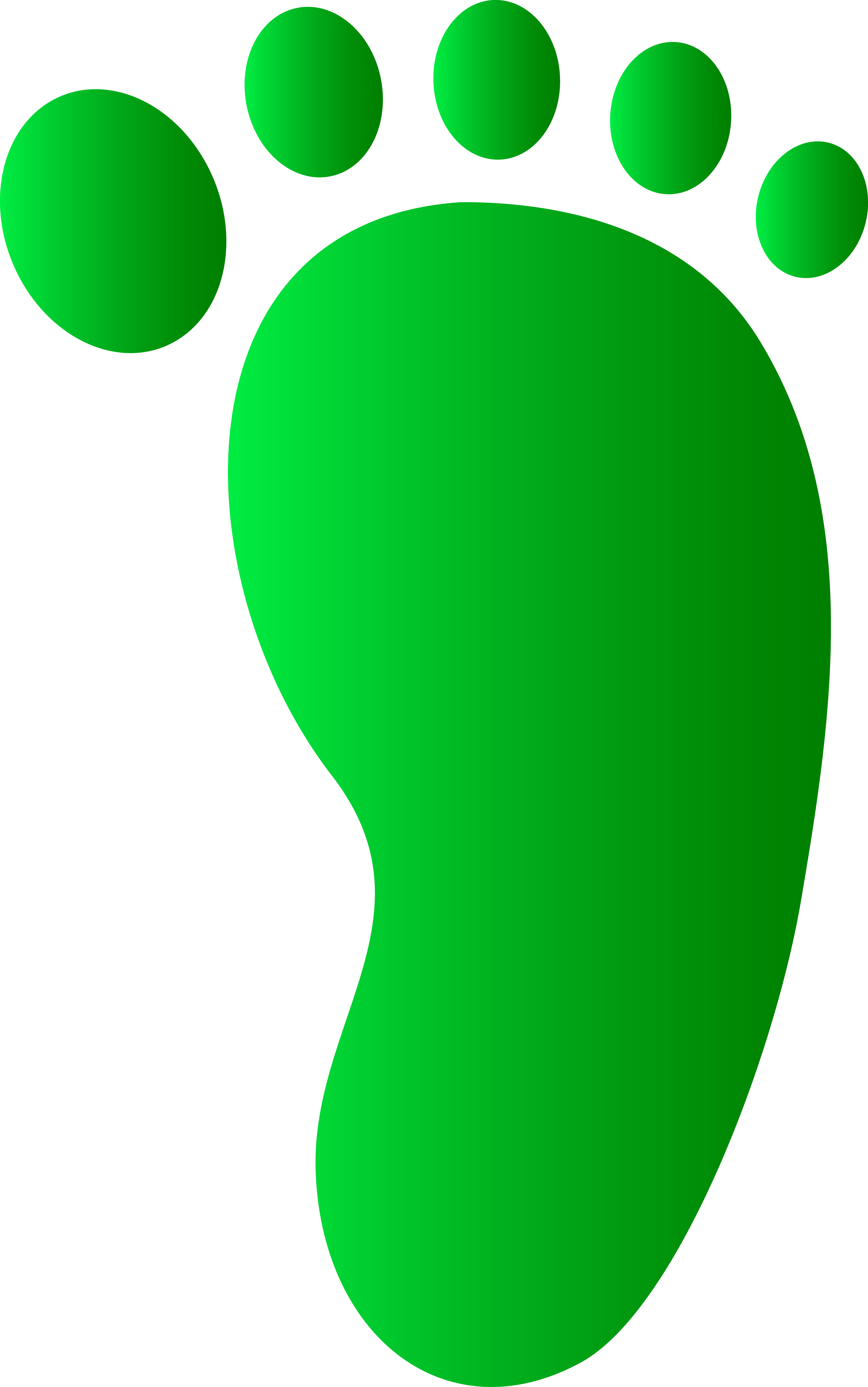 2791x4461 Image Of Baby Footprint Clipart