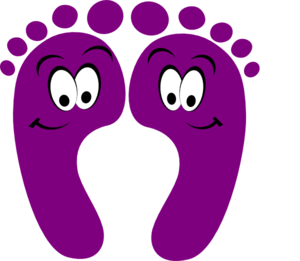 300x261 Walking Feet Clipart Free Clipart Images 3 Image