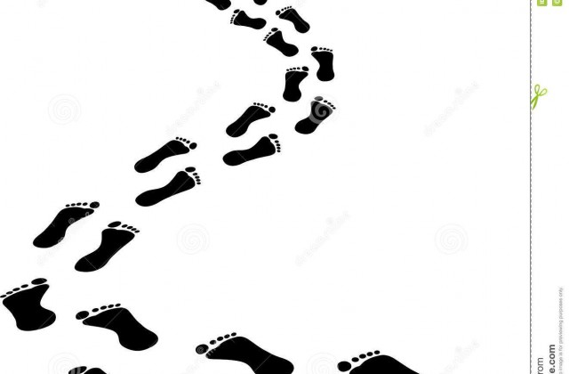 640x420 Footprint Clipart Sponsored Walk
