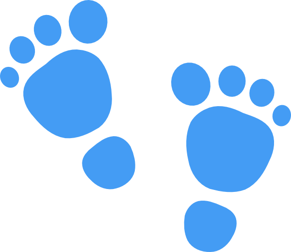 600x520 Footprints Clip Art