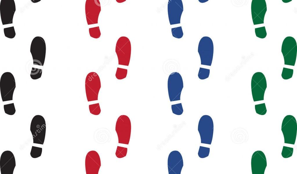 1024x600 Walking Sneakers Clip Art